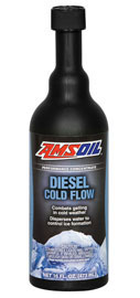 AMSOIL Diesel Cold Flow is a diesel fuel additive formulated to improve the flow of diesel fuel in cold weather conditions.